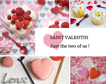 Toutes les recettes de Saint Valentin de Turbigo Gourmandises