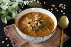 soupe blettes pois chiches fait maison