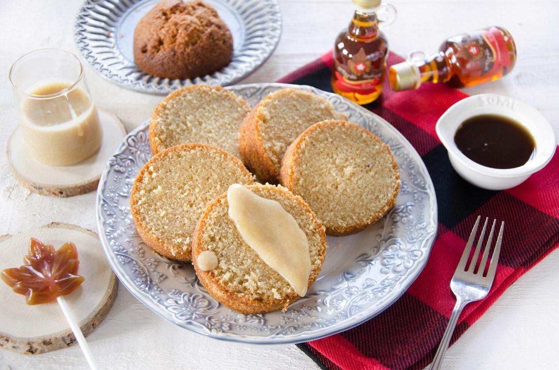 gâteau au sirop d'érable en conserve fait maison