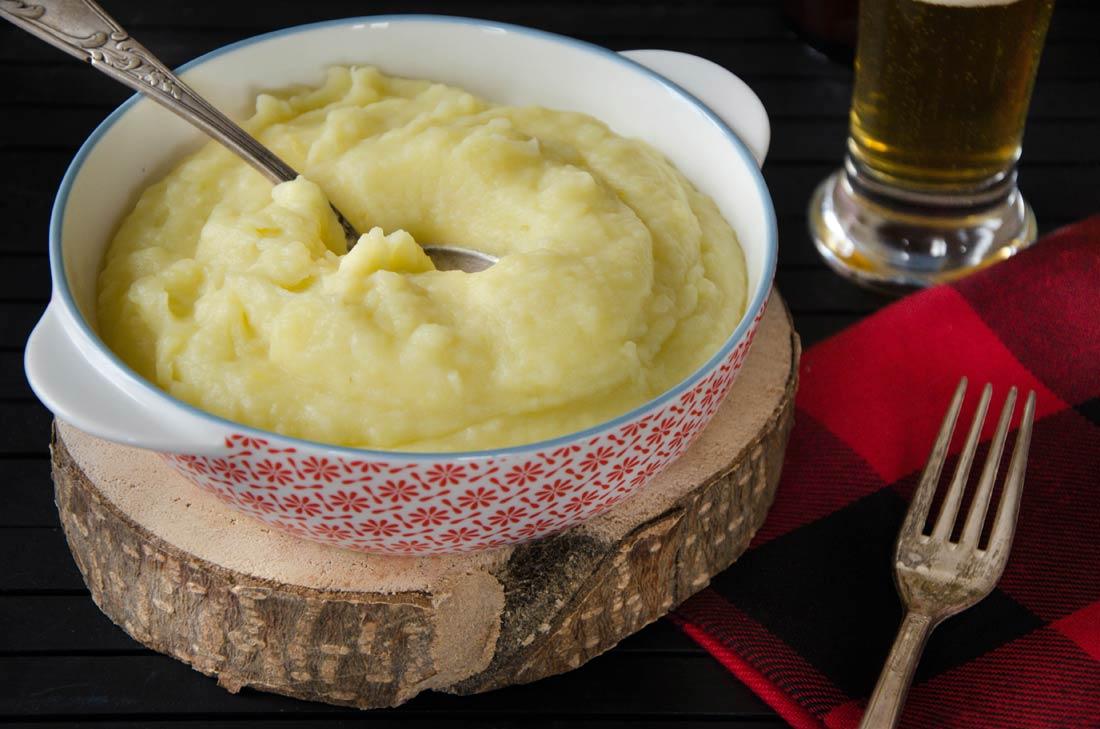 Mioche, une purée québécoise de navets et de pommes de terre