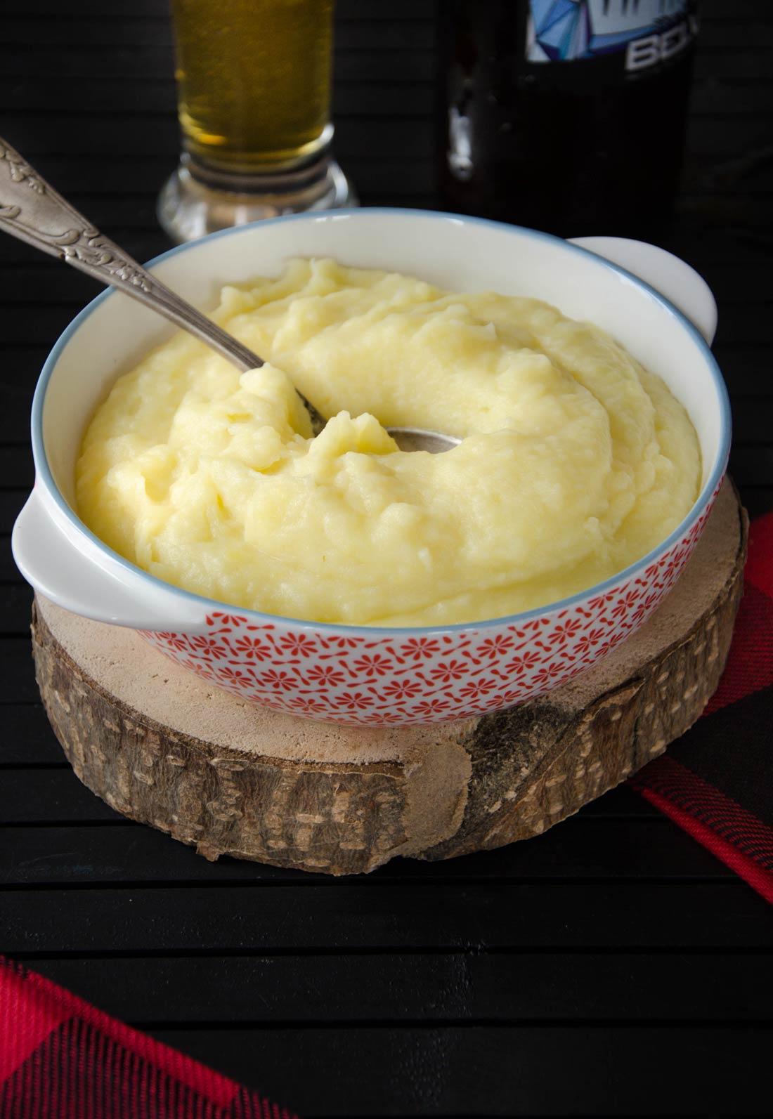 Mioche, une purée de navets et pommes de terre