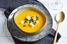 Soupe potimarron morbier maison