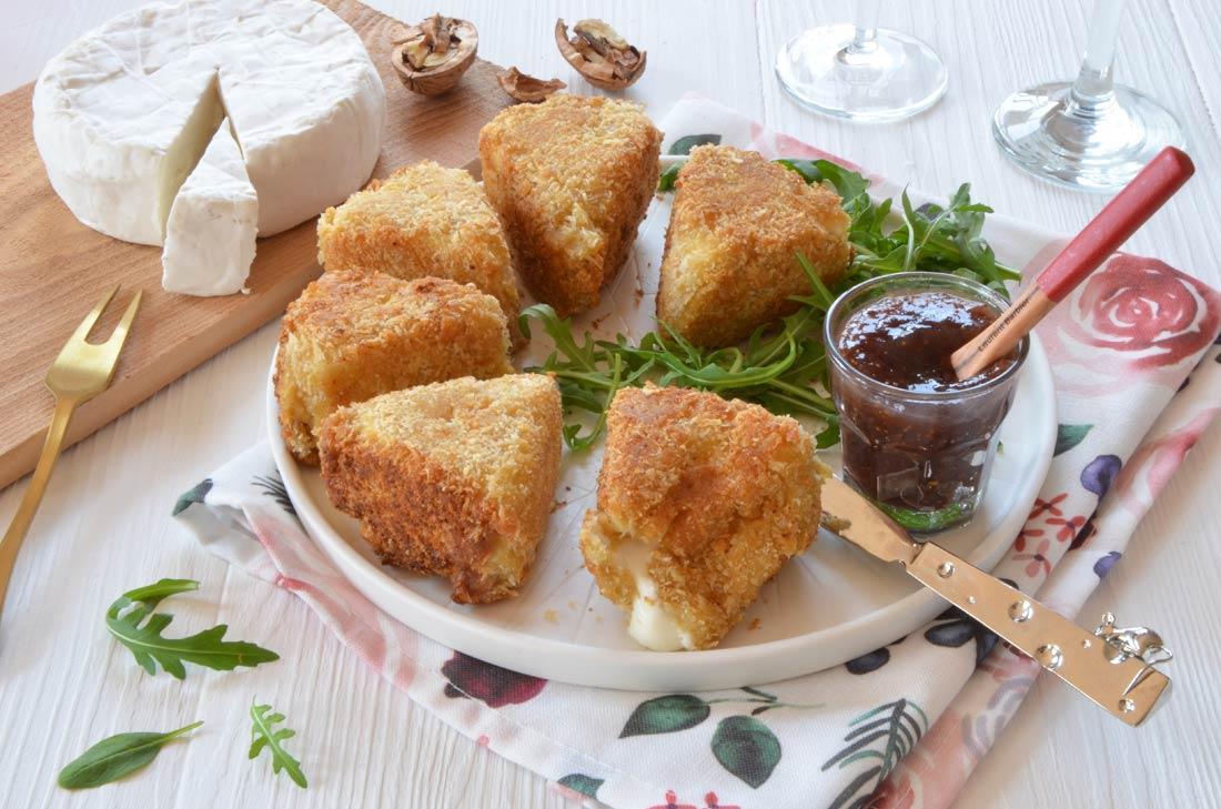 beignets de camembert maison