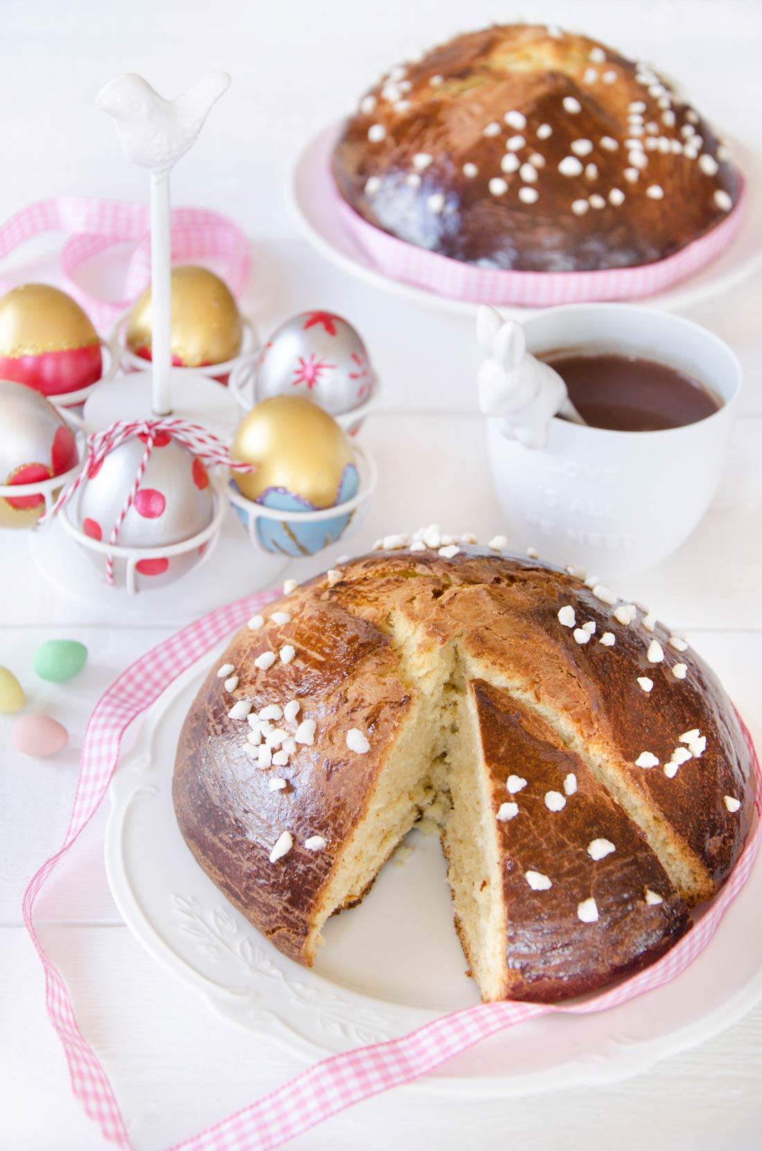 Mouna, brioche de Pâques oranaise