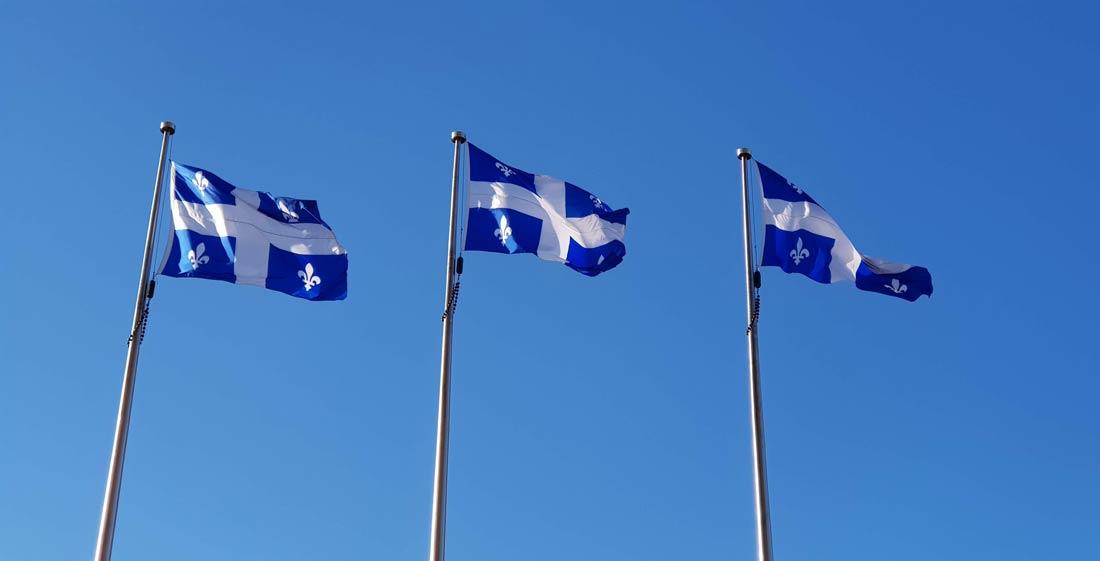 Drapeaux du Québec