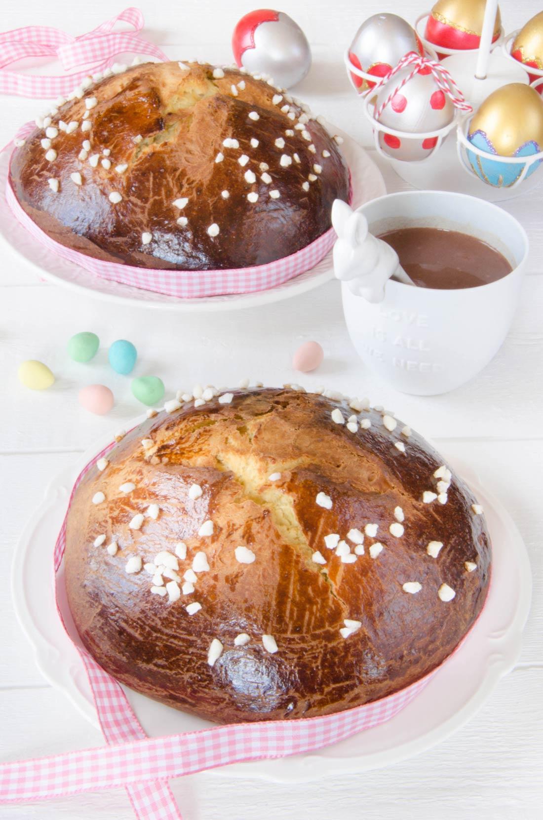 Mouna oranaise, brioche de Pâques