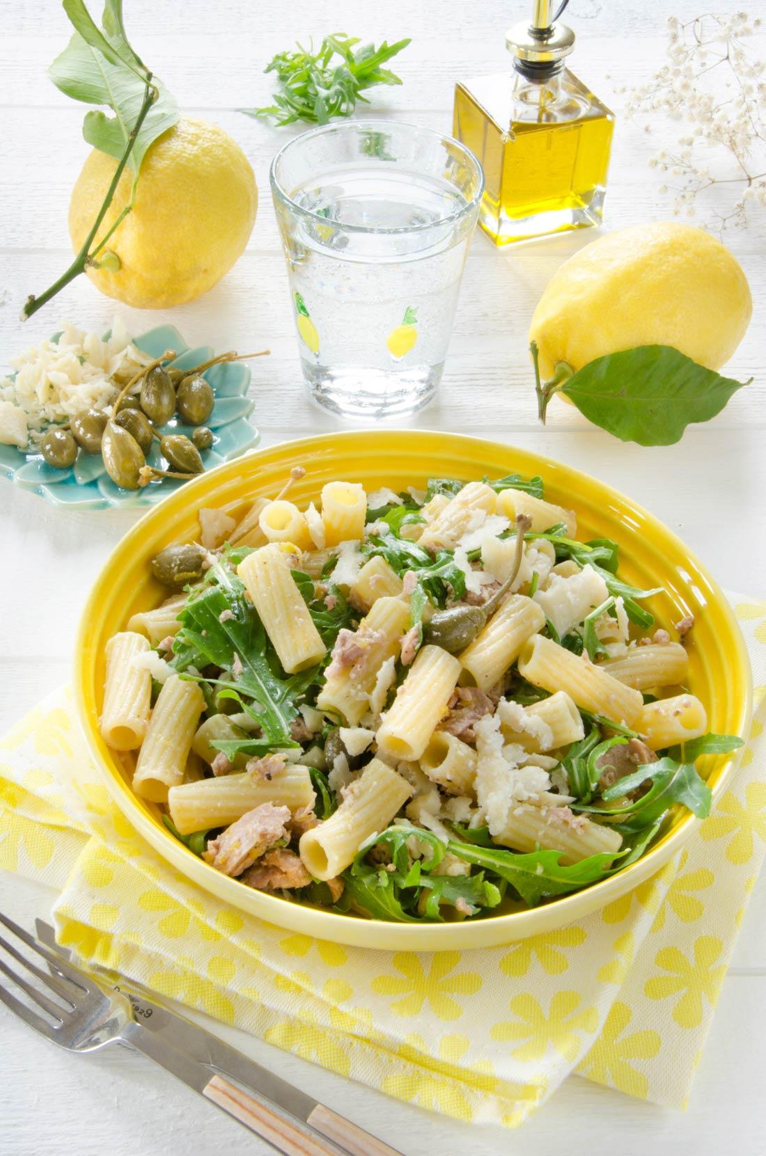 Pâtes au thon et au citron, recette maison