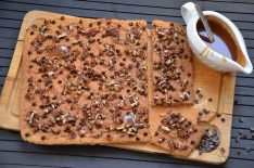 Recette de biscuit géant chocolat caramel pécan
