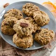 Cookies carotte noix de pécan