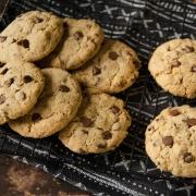 Cookies chocolat sarrasin noix de pécan