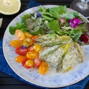 Recette de papillotes saumon asperges