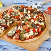 pizza à la grecque maison