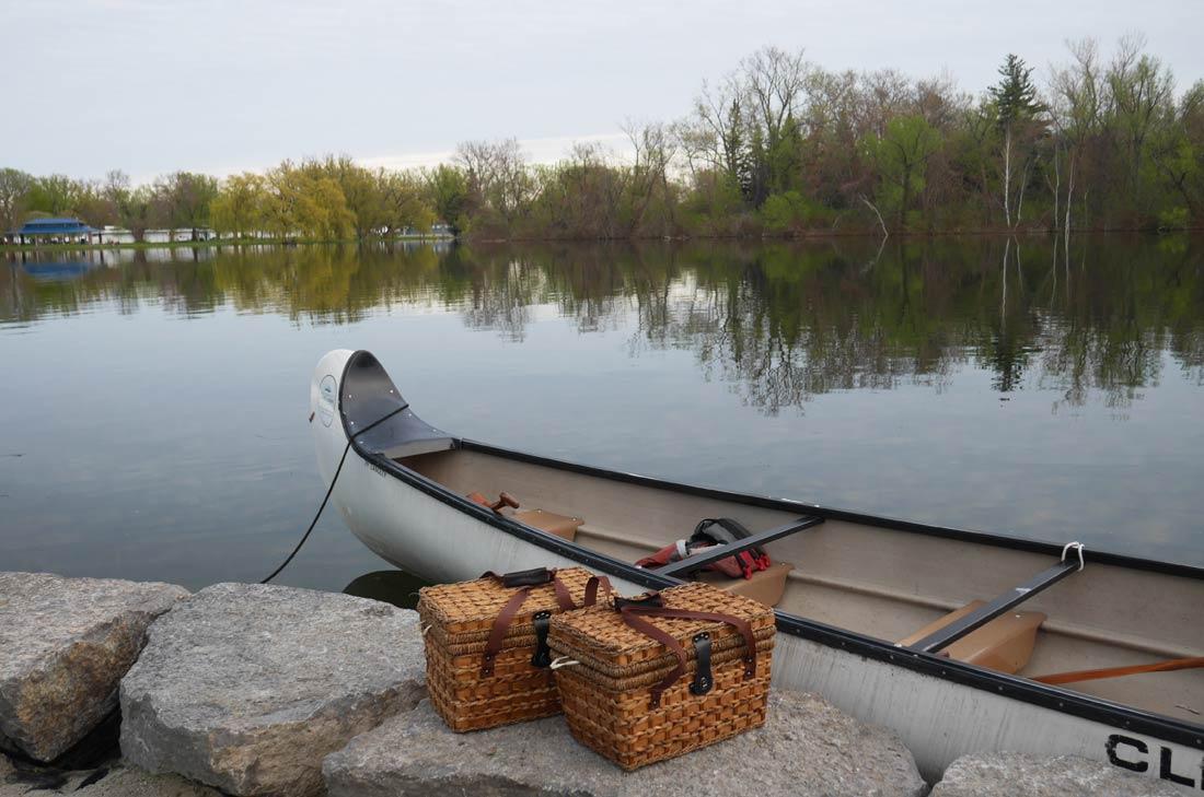 Culniary Adventure canoe à Toronto