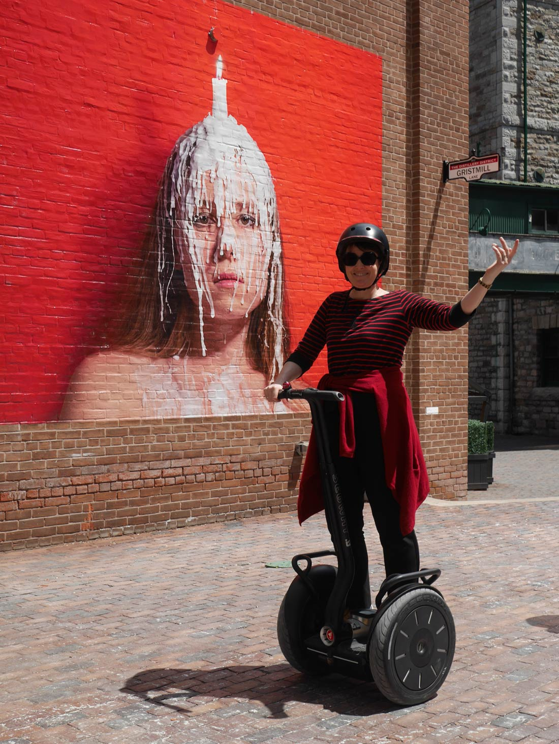 Balade en segway dans Distillery District