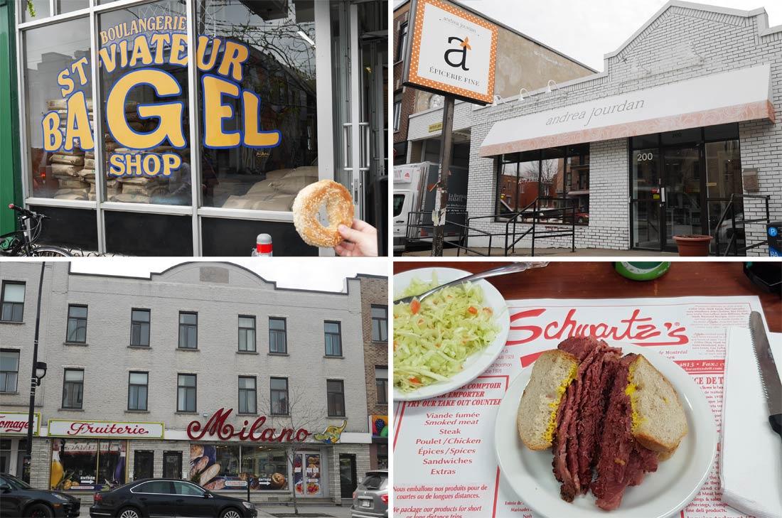 Épiceries, Schwartz à Montréal