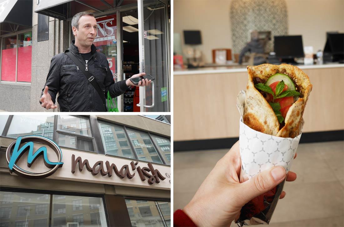 Foodies on foot tour à Toronto
