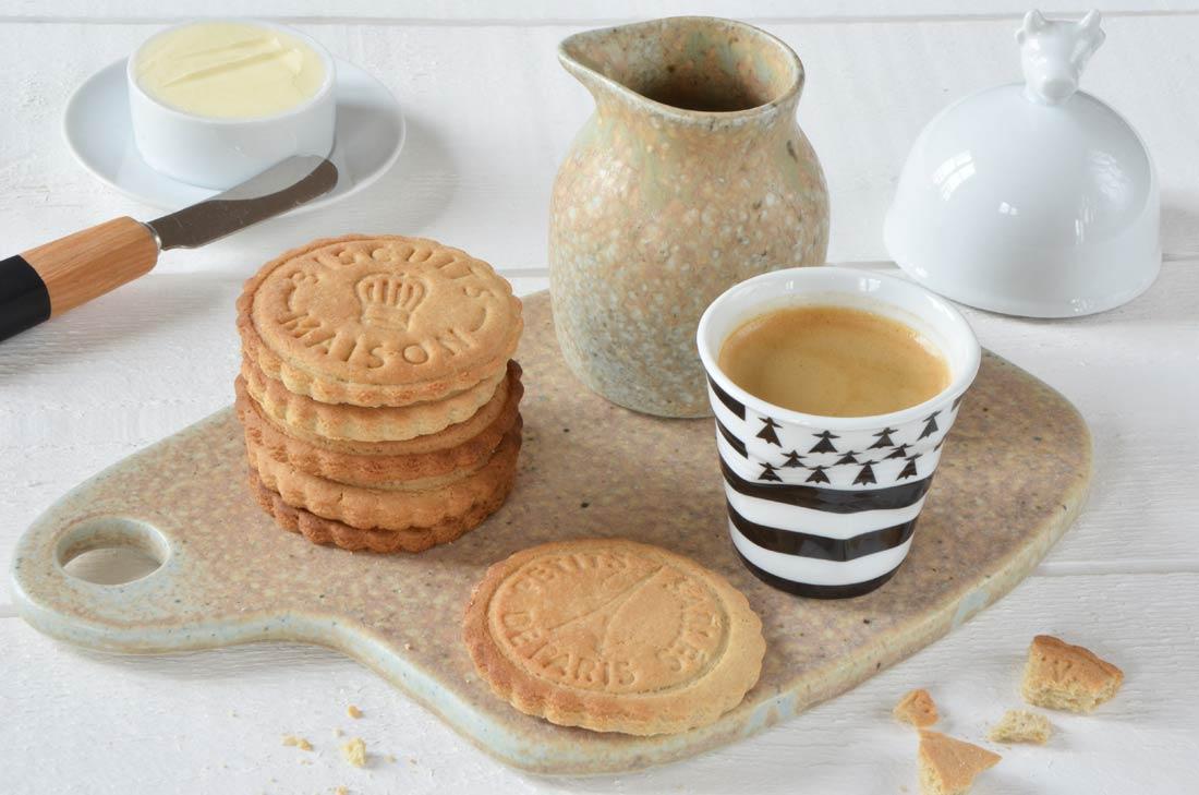 Galettes bretonnes pur beurre fait maison