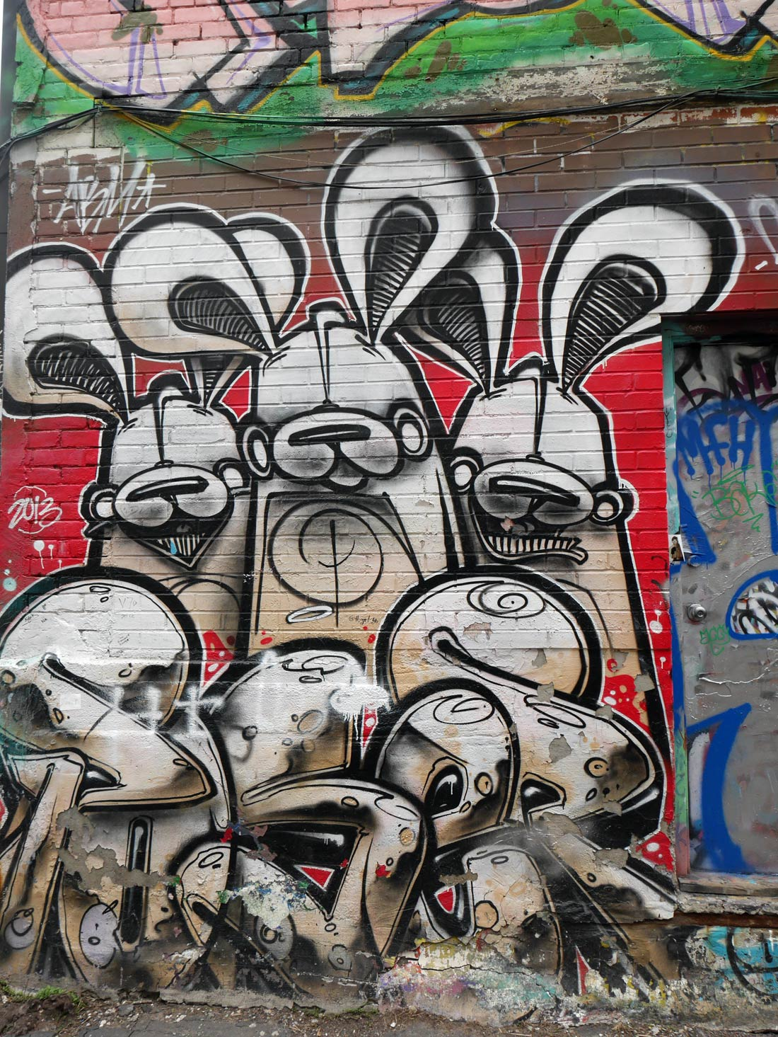 Graffiti Alley à Toronto