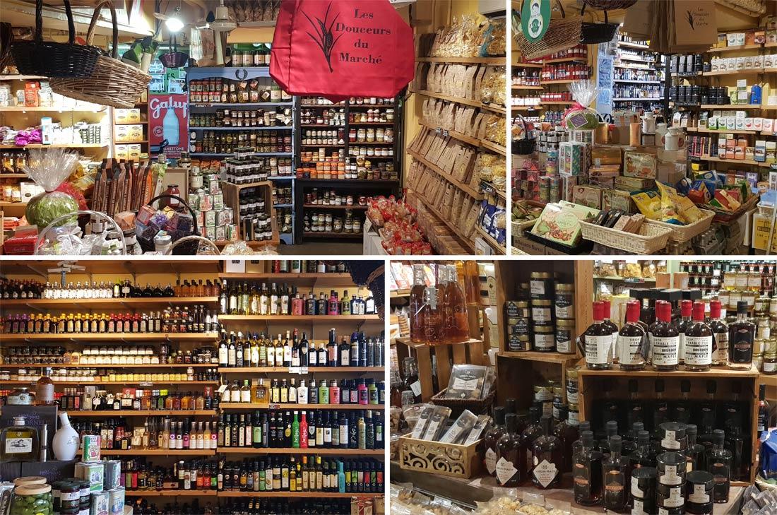 Épicerie fine Les Douceurs du Marché, marché Atwater à Montréal