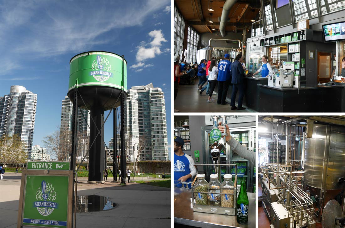 Visite de la Brasserie Steam Whistle