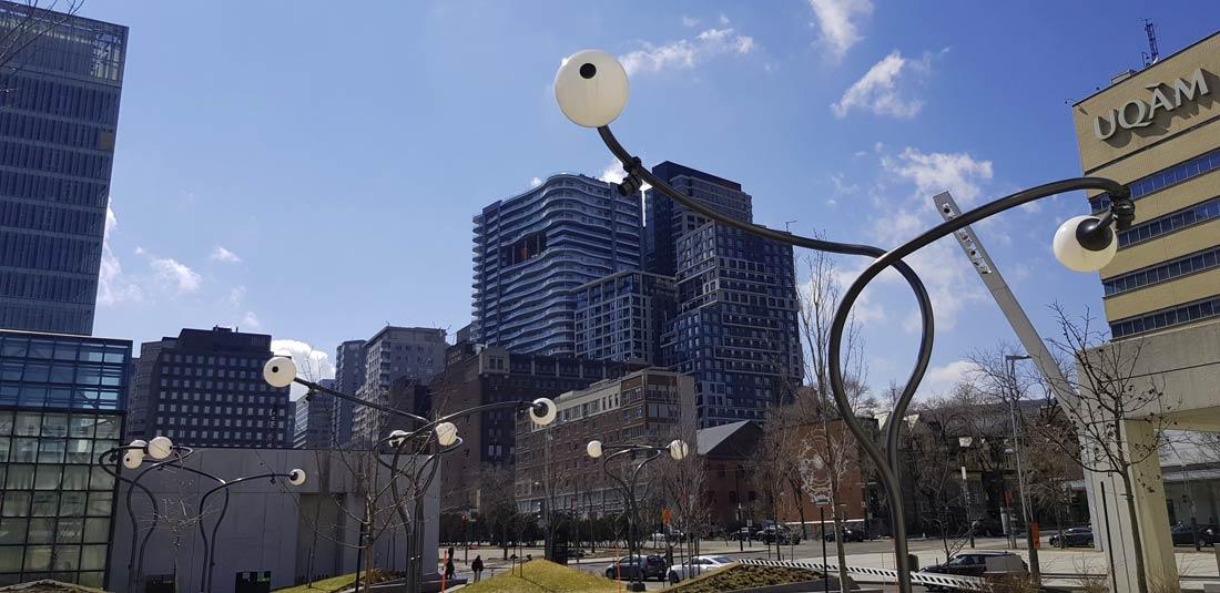 Place des Arts à Montréal