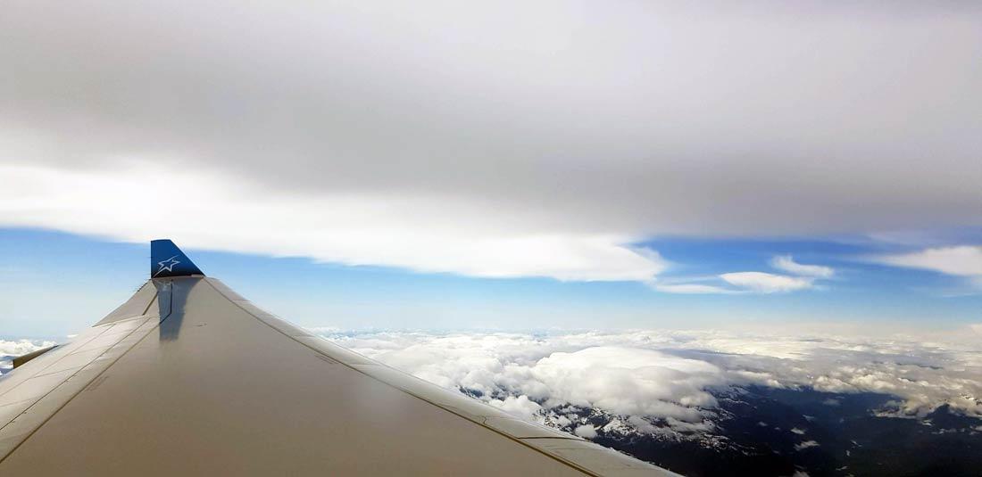 Retour sur Paris avec Air Transat