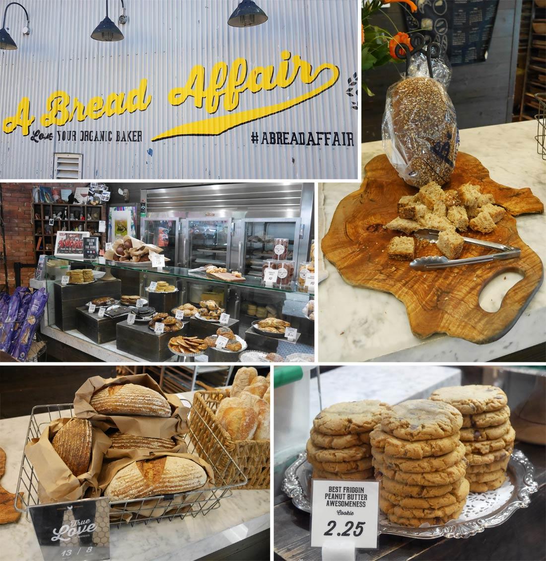 Boutique A Bread Affair, Granville Public Island Market à Vancouver