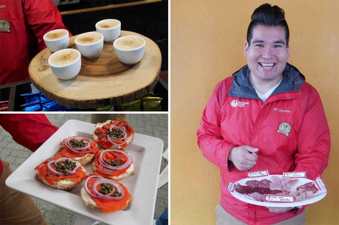 Vancouver Foodie Tour au Granville Public Island Market