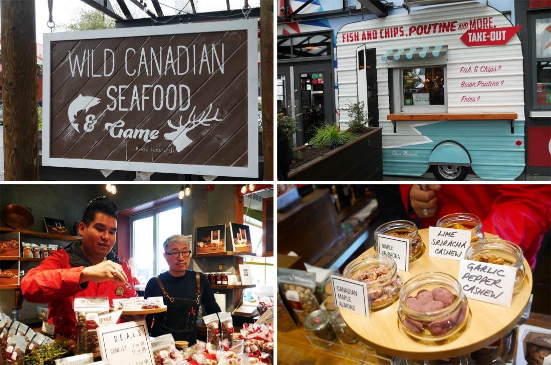 Vancouver food tour à Granville Island public market