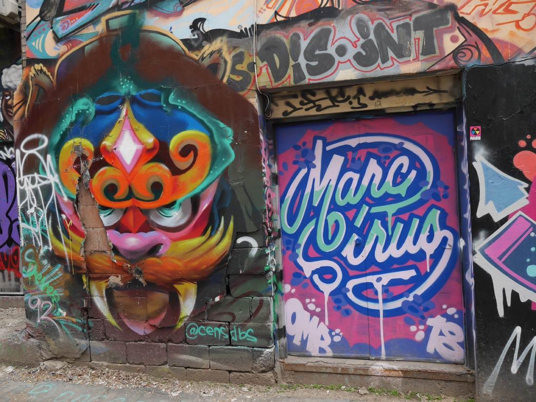 Marc Sirus, Graffiti Alley à Toronto