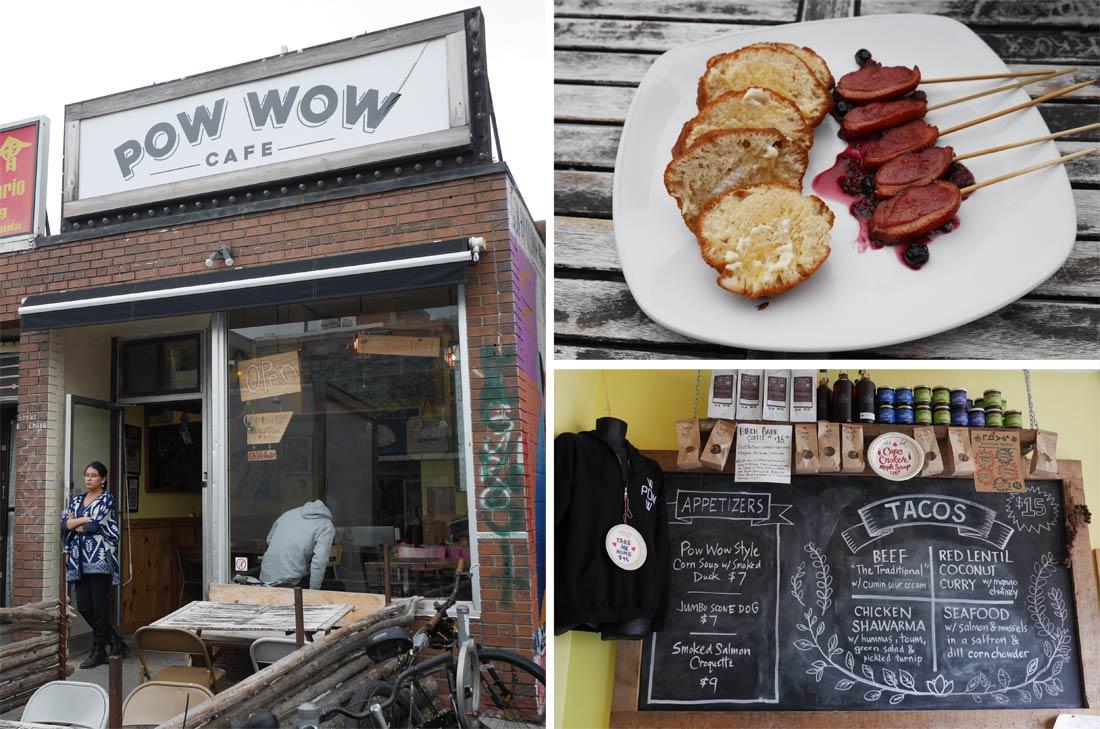 Restaurant Pow Wow Café à Toronto