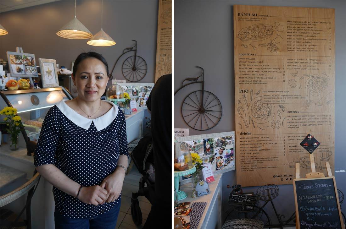Propriétaire du restaurant Banh Mi Très Bon à Vancouver