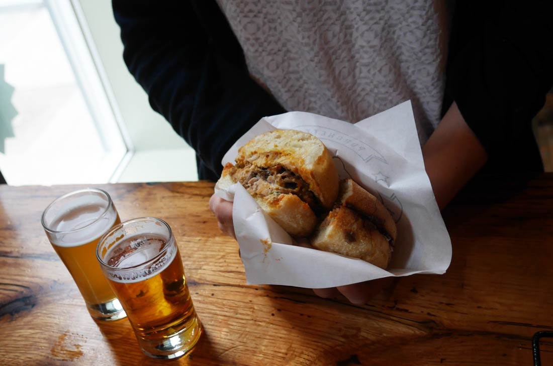Sandwich Porchetta à Toronto
