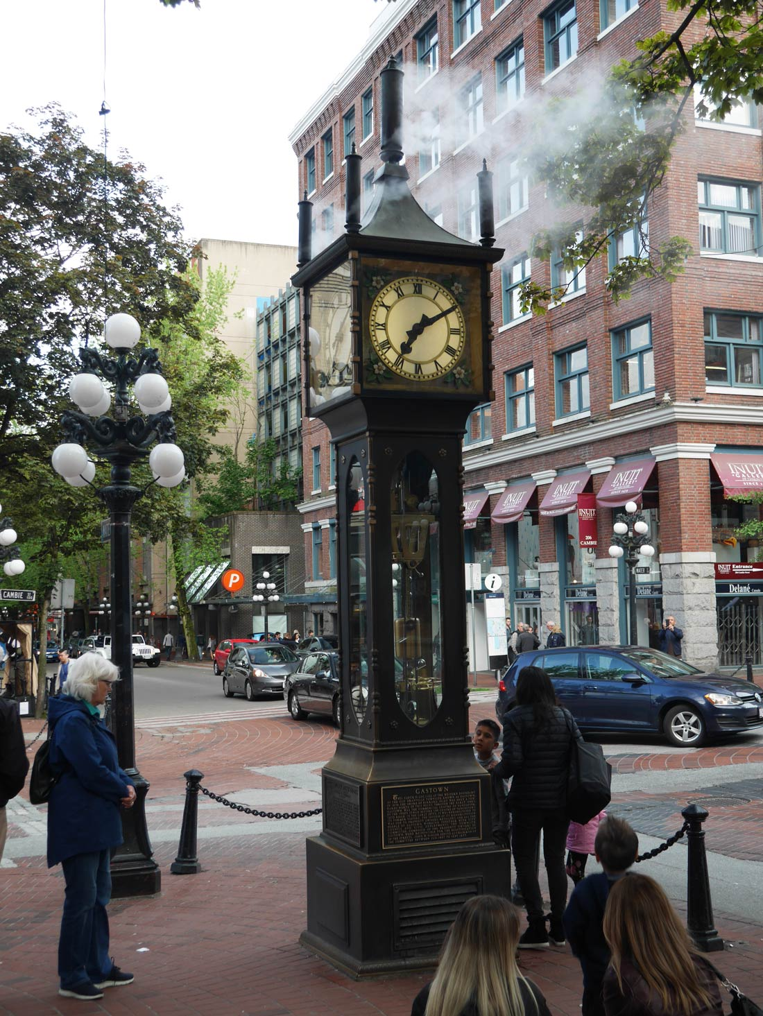 La Steam Clock à Vancouver