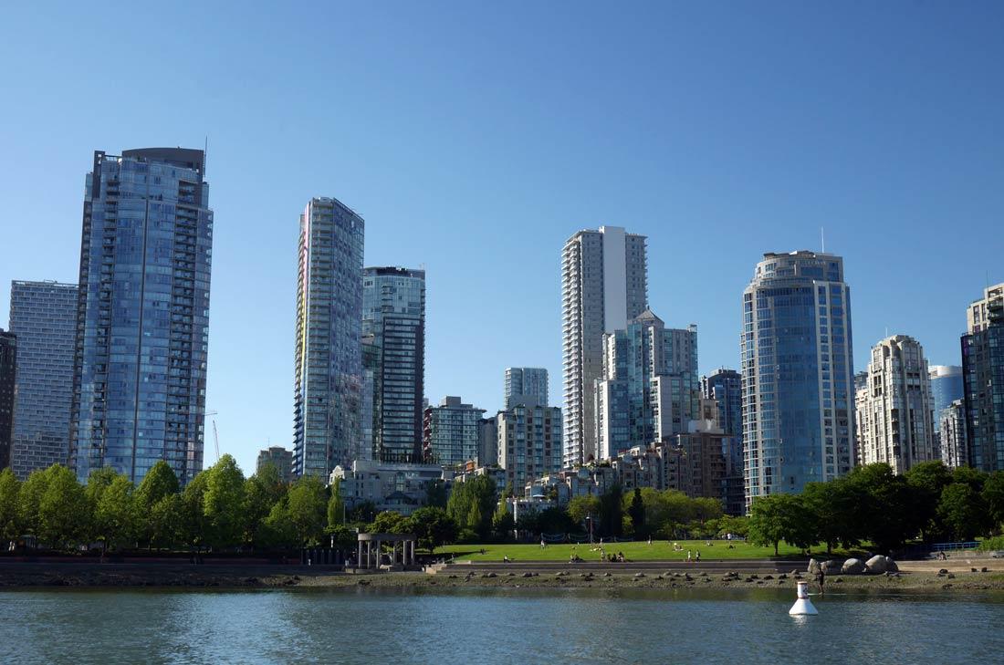 Vancouver entre mer et gratte-ciels
