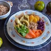 Breizh bowl truite artichauts