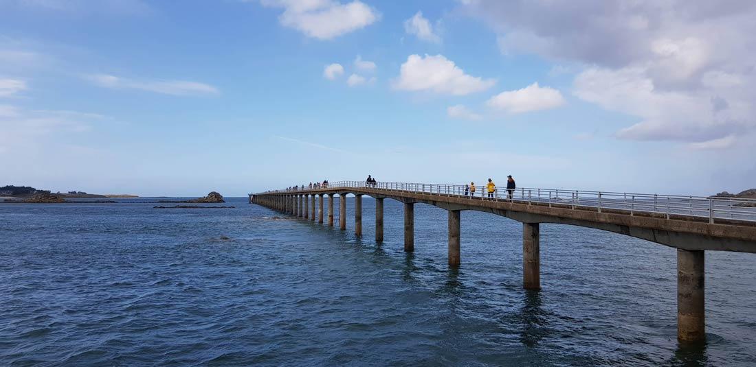 Embarcadère pour l'Ile de Batz à Roscoff