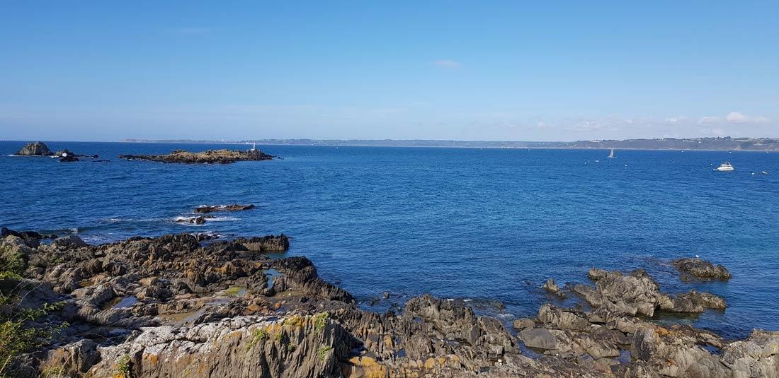 La mer depuis Locquirec