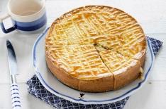 gâteau breton fourré à la crème de pruneau maison