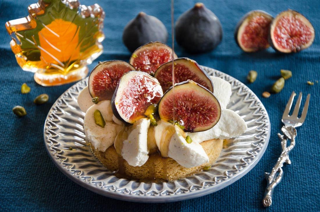 Sablés bretons figues érable pistache