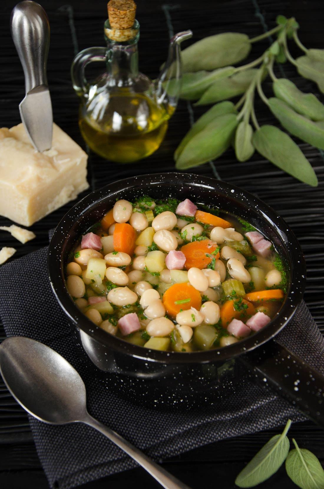 Soupe complète aux cocos de Paimpol