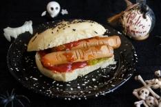 Hot-dog de saucisses doigts