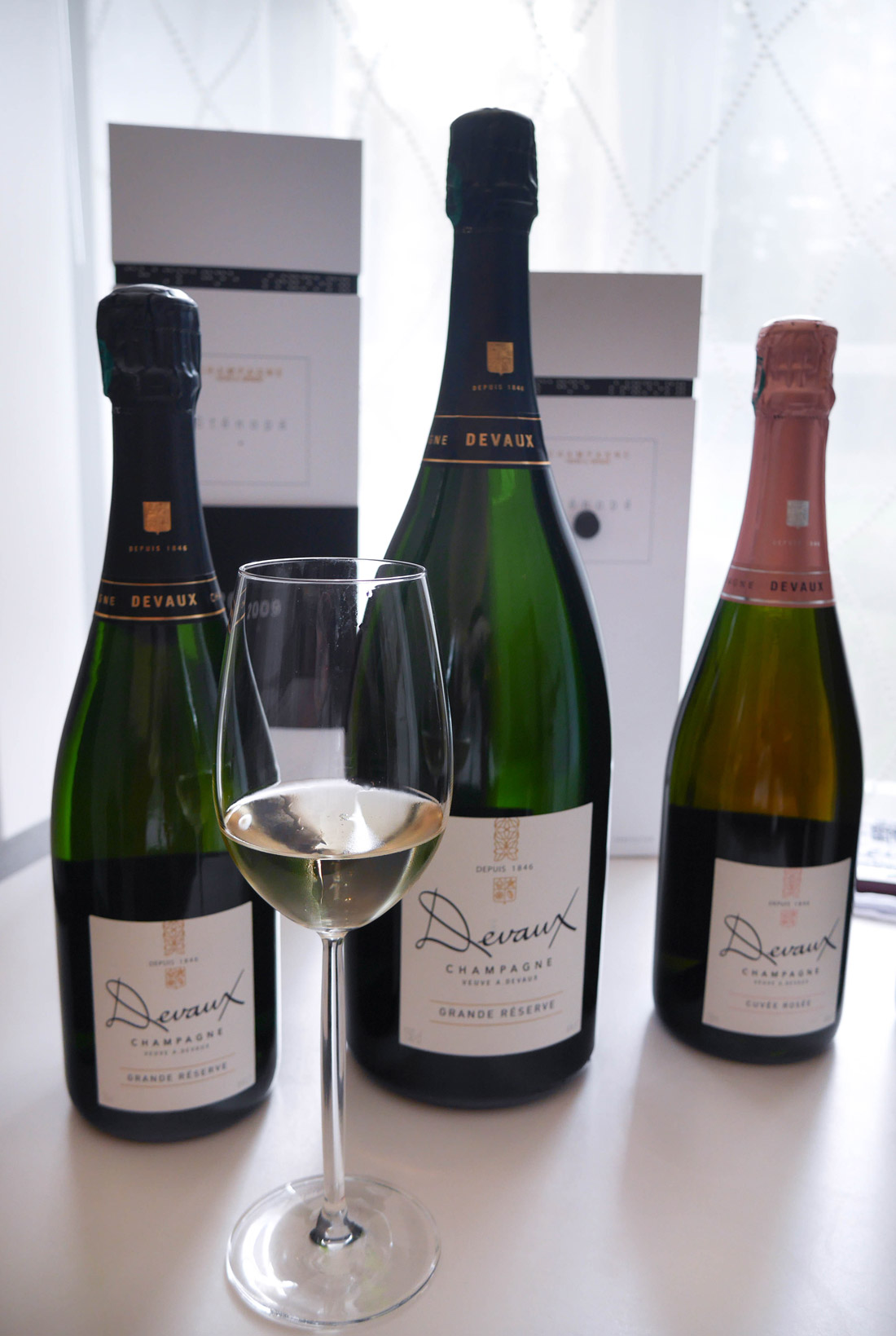 Champagnes Grande Réserve Devaux