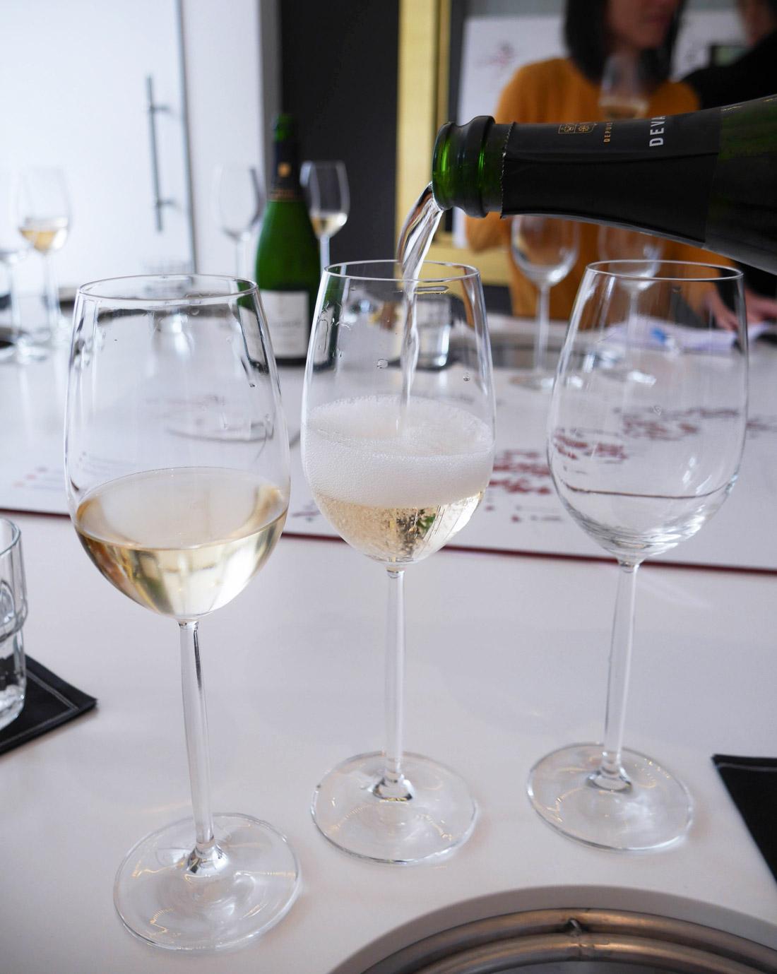 Dégustation champagne Devaux