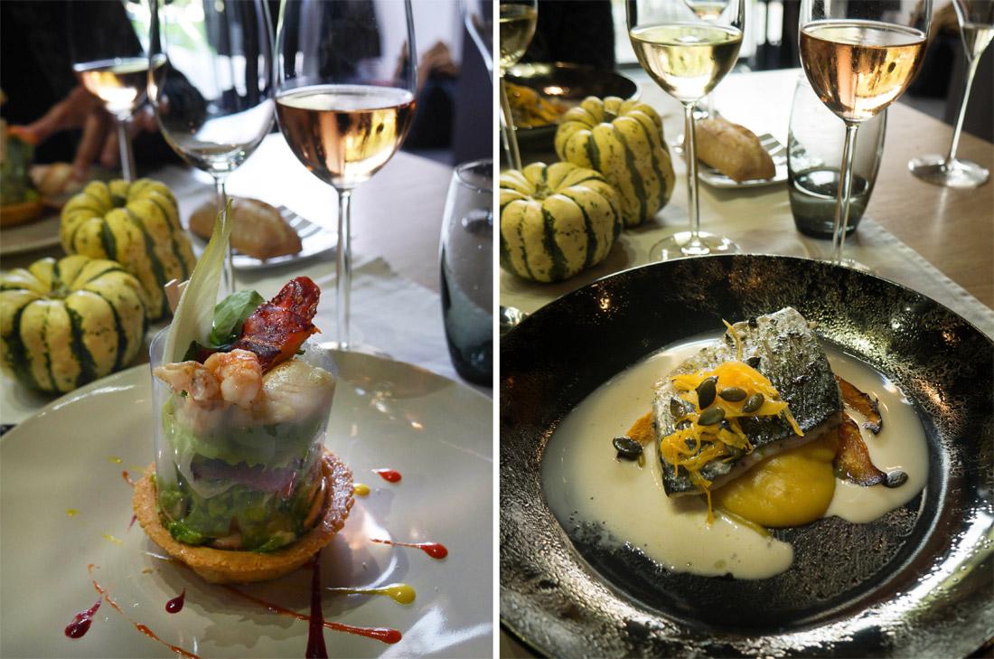 Déjeuner à la Maison de champagne Devaux