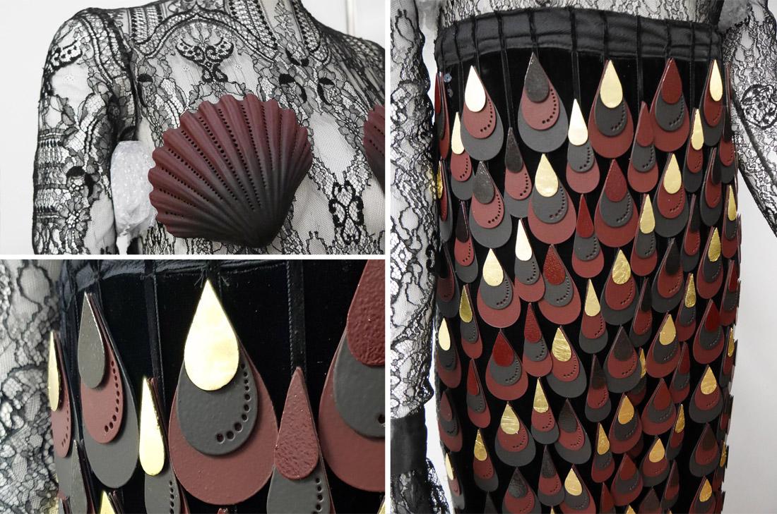 Robe de la Maison du Chocolat pour le Salon du chocolat 2019