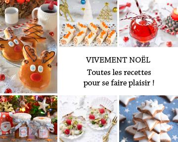 Toutes les recettes de Noël de Turbigo Gourmandises