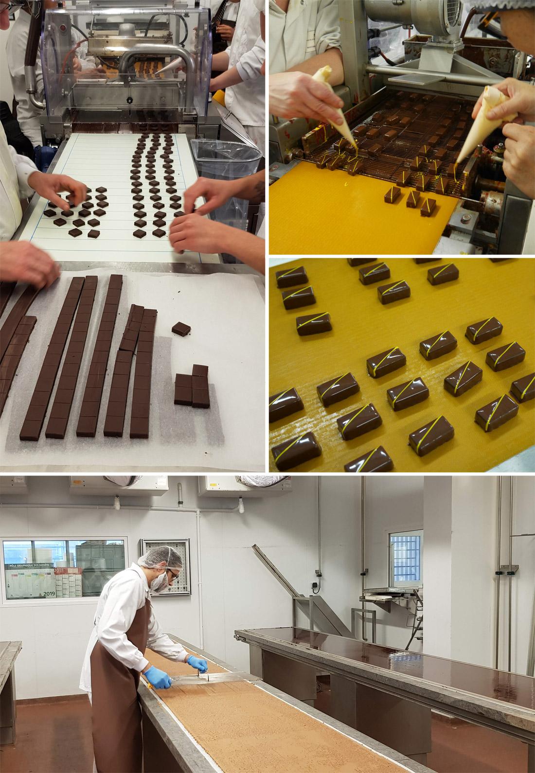 Création des chocolats de la Maison du Chocolat