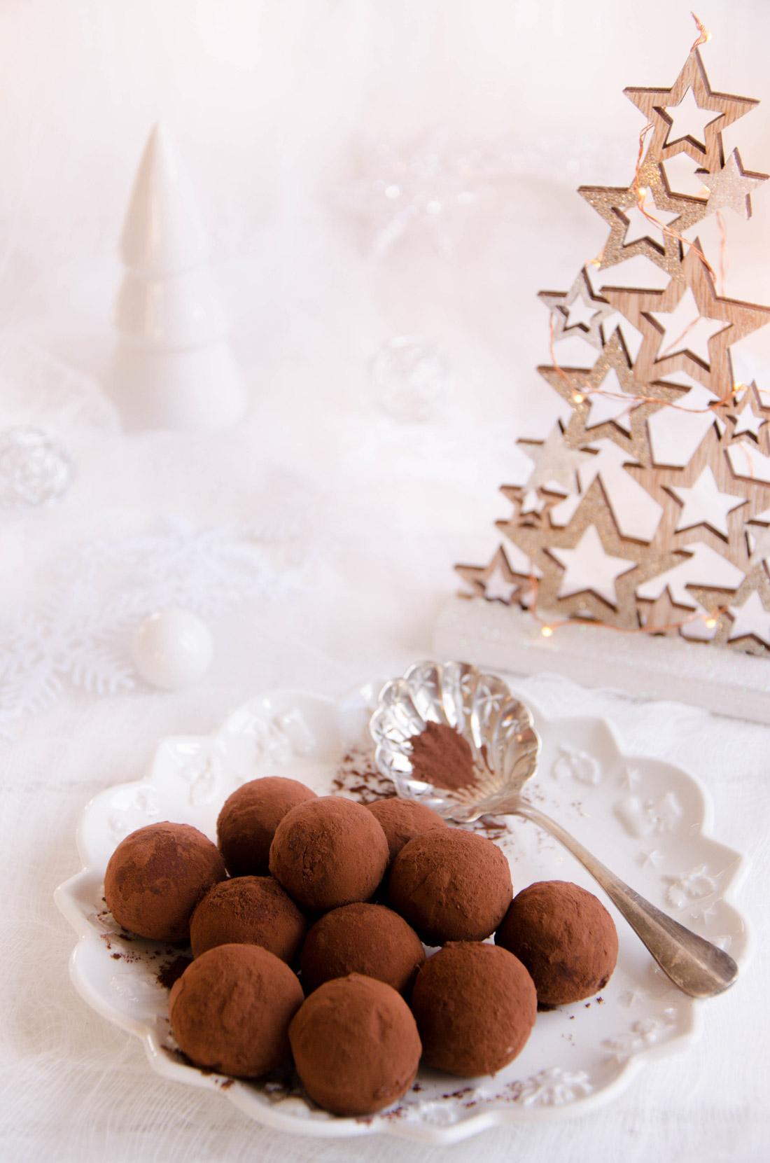 Truffes glacées tiramisu