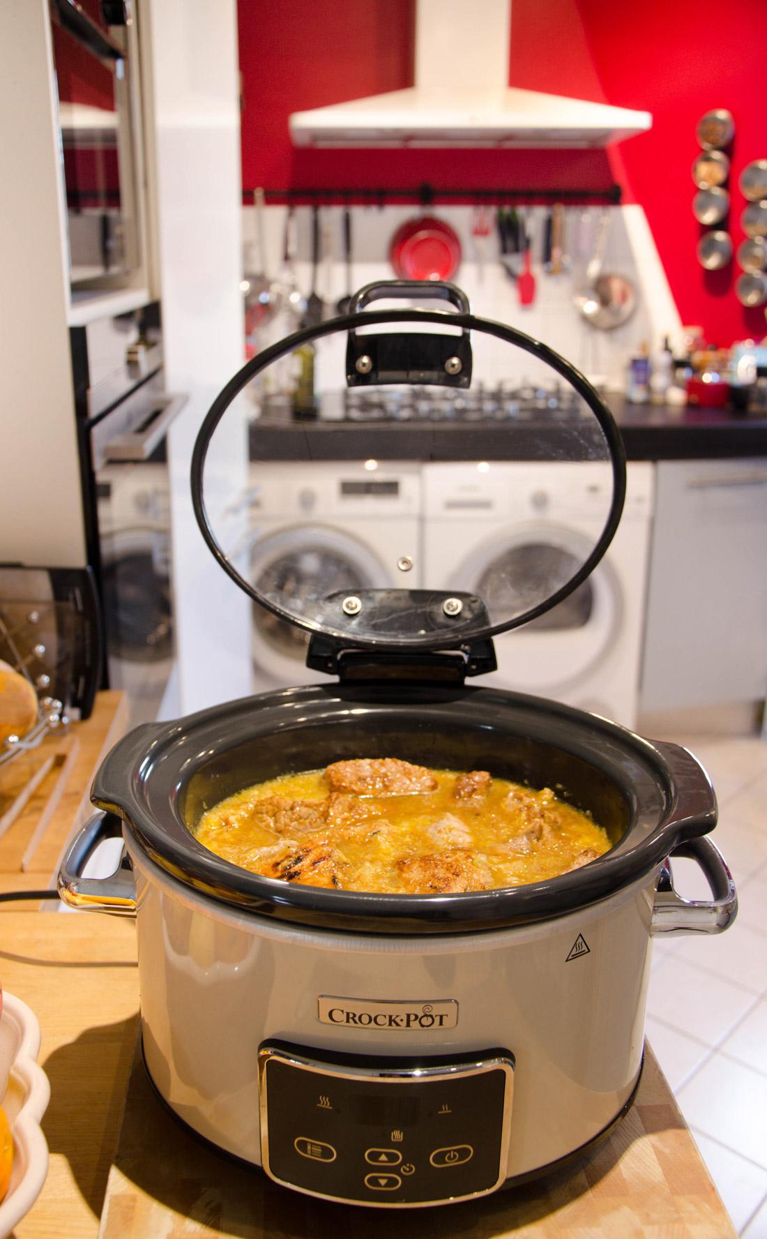 Recette de noix de veau à l'orange mijotée au crockpot